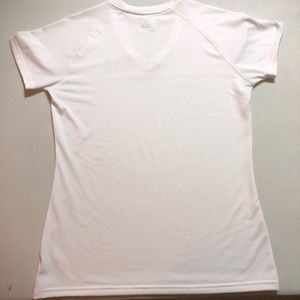 Under Armour Tops - White Under Armour V-Neck Breathable T-Shirt